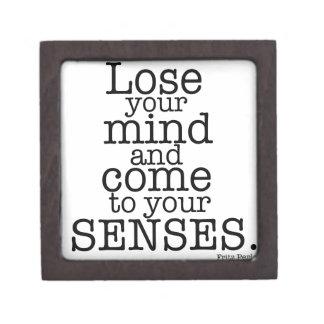 Pierda su mente… cajas de recuerdo de calidad