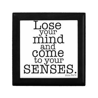 Pierda su mente… caja de recuerdo