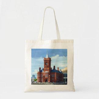 Pierhead Building, Cardiff, Wales Canvas Bag