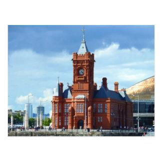 Pierhead Building, Cardiff, Wales, UK Postcard