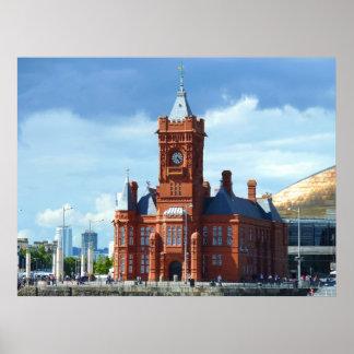 Pierhead Building, Cardiff, Wales, UK Print