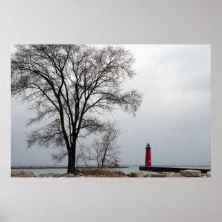 Pierhead Lighthouse Poster