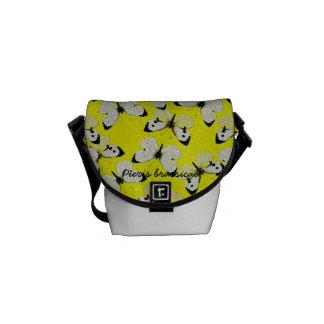 Pieris brassicae messenger bag