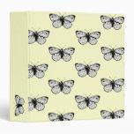 Pieris Rapae Butterfly Binder
