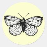 Pieris Rapae Butterfly Sticker