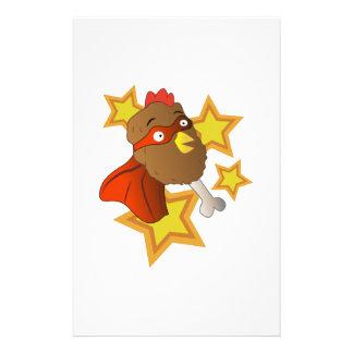 Pierna de pollo estupenda papeleria personalizada