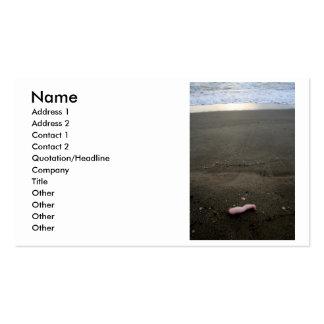 Pierna plástica de la muñeca de la litera de la tarjetas de visita