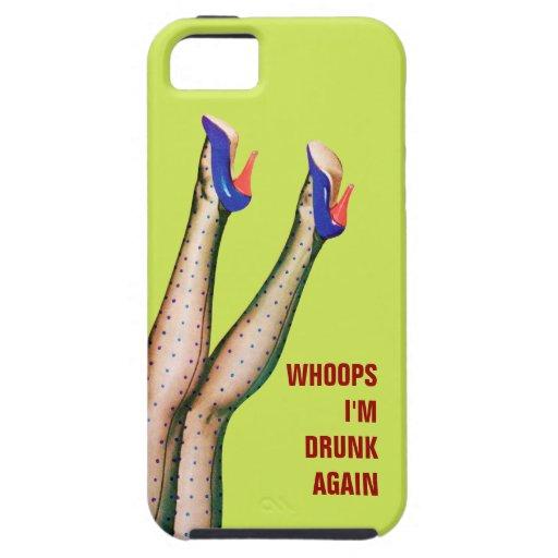 Piernas en el aire - otra vez bebida caja del iPhone 5 Case-Mate protector