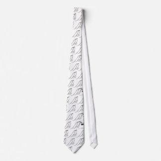 Piernas largas del papá corbata
