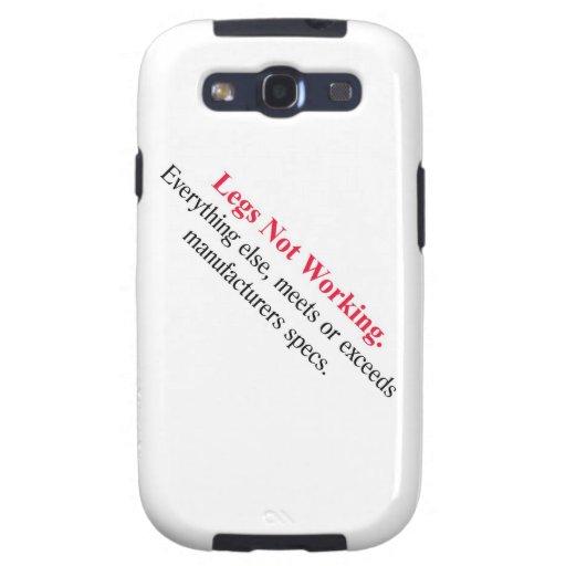 Piernas que no trabajan. Everthing… Samsung Galaxy S3 Funda
