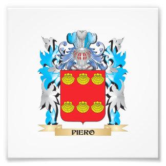 Piero Coat of Arms - Family Crest Photo Art