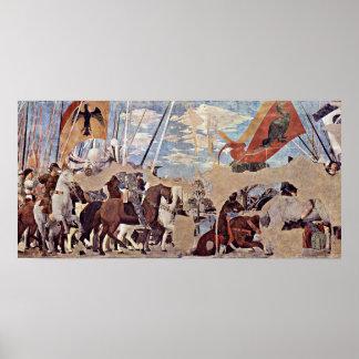 Piero della Francesca - Battle of Milvian Bridge Poster