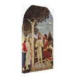 Piero della Francesca - bautismo de Cristo Impresión En Lona