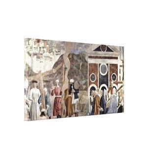 Piero della Francesca - Discovery of the Cross Gallery Wrapped Canvas