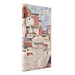 Piero della Francesca - escena arquitectónica Lienzo Envuelto Para Galerías