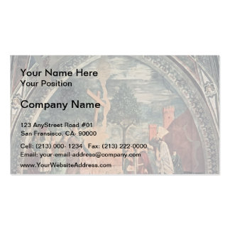 Piero della Francesca- Exaltation of the Cross Double-Sided Standard Business Cards (Pack Of 100)