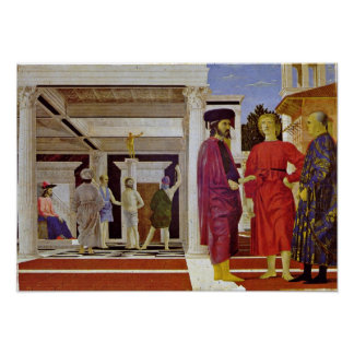 Piero della Francesca - Flagellation of Christ Print