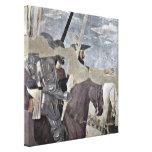 Piero della Francesca - jinetes Lona Estirada Galerias