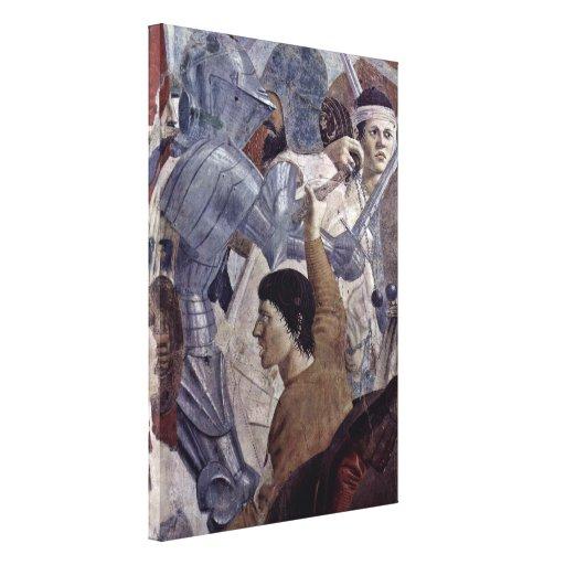 Piero della Francesca - Krieger Impresion De Lienzo