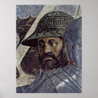 Piero della Francesca - Krieger Poster