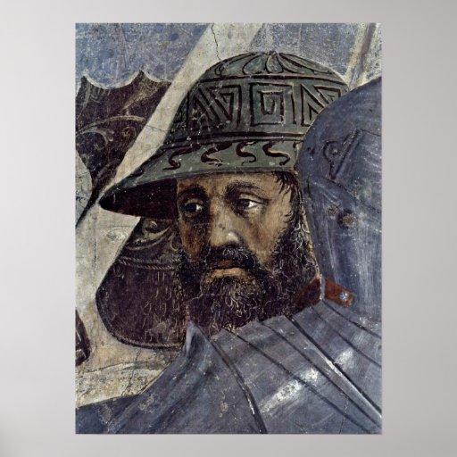 Piero della Francesca - Krieger Póster