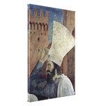 Piero della Francesca - leyenda de la cruz verdade Impresión En Lona Estirada