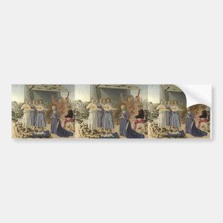Piero della Francesca- Nativity Bumper Stickers