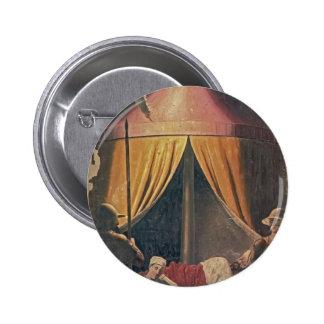Piero della Francesca- The Dream of Constantine Buttons