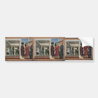 Piero della Francesca- The Flagellation of Christ Bumper Sticker