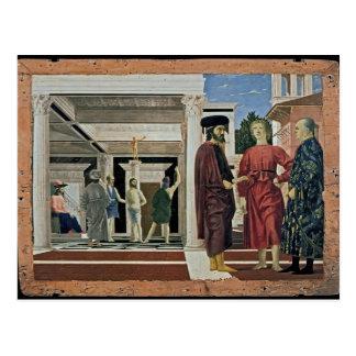 Piero della Francesca- The Flagellation of Christ Post Cards