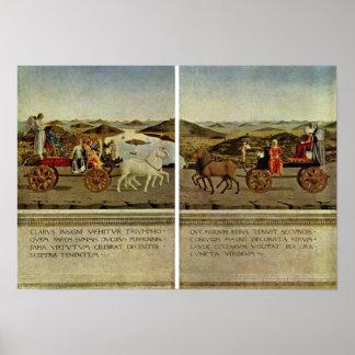 Piero della Francesca - Triumph del duque Impresiones