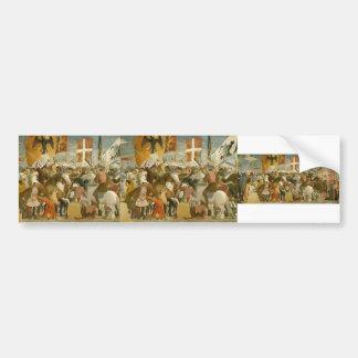 Piero Francesca:Battle between Heraclius,Chosroes Bumper Sticker