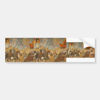 Piero Francesca-Battle of Constantine & Maxentius Bumper Stickers