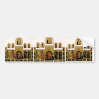 Piero Francesca- Polyptych of the Misericordia Bumper Stickers
