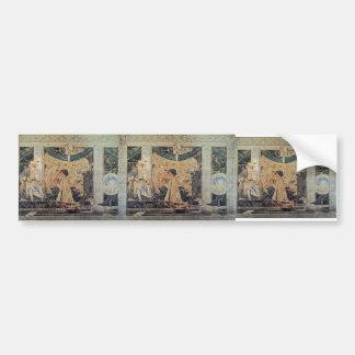 Piero Francesca-St.Sigismund,Sigismondo Malatesta Bumper Sticker