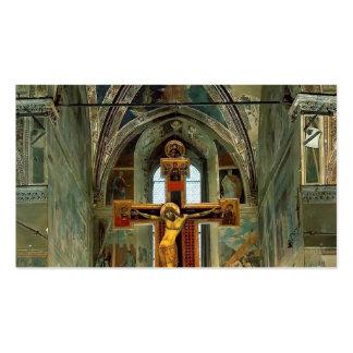 Piero Francesca- View of the Cappella Maggiore Business Cards