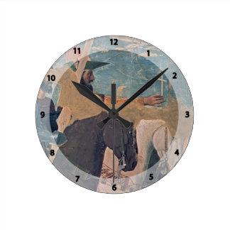 Piero Francisca La victoria de Constantina Relojes De Pared