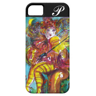 PIERO/monograma veneciano de la noche del carnaval iPhone 5 Carcasa