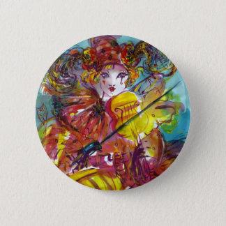 PIERO / Venetian Carnival Night Button