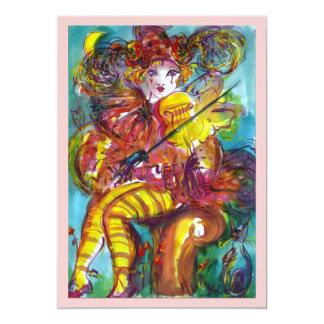 PIERO / Venetian Carnival Night Card