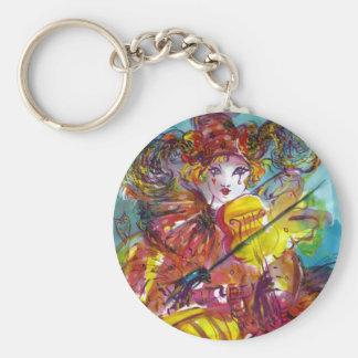 PIERO / Venetian Carnival Night Keychain