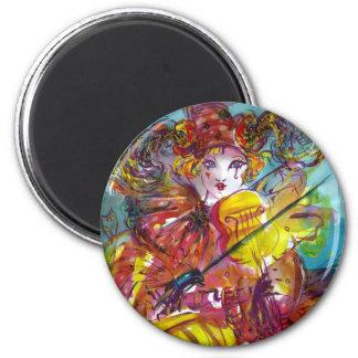 PIERO / Venetian Carnival Night Magnets
