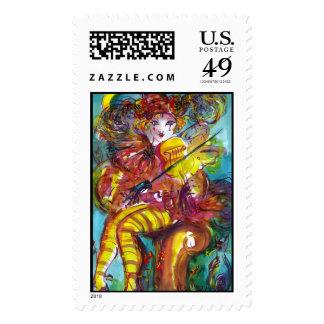 PIERO / Venetian Carnival Night Stamps