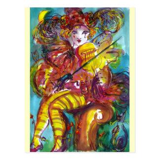 PIERO / Venetian Carnival Night Postcard