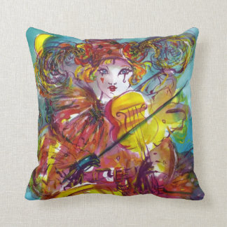 PIERO / Venetian Carnival Night Throw Pillow