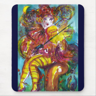 PIERO  VIOLIN PLAYER/ Venetian Carnival Night Mouse Pad