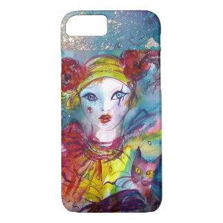 PIERO WITH CAT / Venetian Carnival iPhone 7 Case