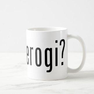 ¿pierogi conseguido? tazas de café