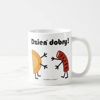 Pierogi & Kielbasa - Customizable Coffee Mug