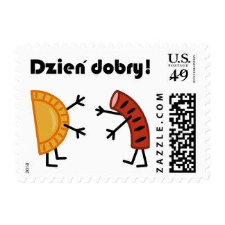 Pierogi & Kielbasa - Dzien Dobry! Stamp